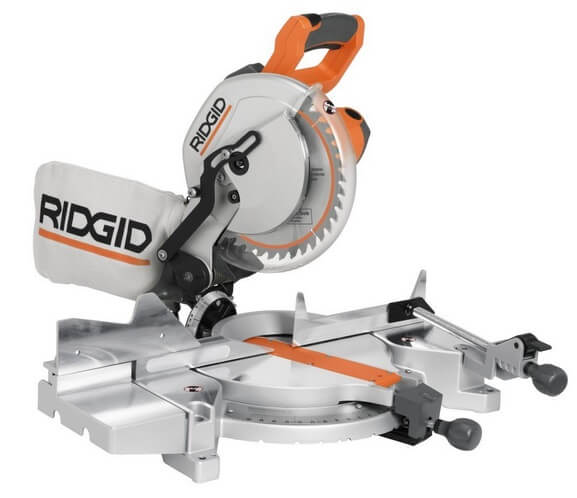 Ridgid ms1065lza saw 10 inch compound miter with laser for 12 inch ridgid table saw