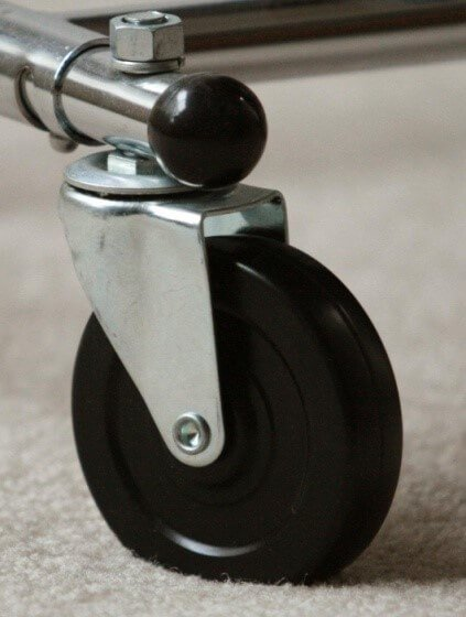 Swivel caster wheels