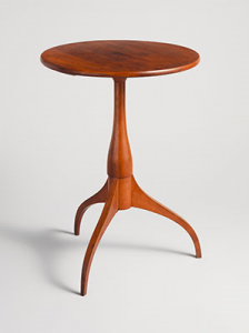 Shaker round table -- Courtesy of Metropolitan Museum of Art