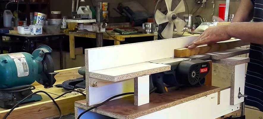 benchtop jointer working guide