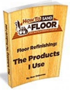 Ho to sand a floor